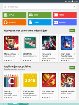 Samsung Galaxy Tab A - Applications - Télécharger une application - Étape 4