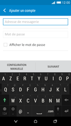 HTC Desire 816 - E-mail - Configuration manuelle - Étape 6