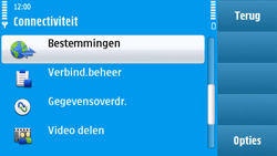 Nokia N97 - internet - handmatig instellen - stap 5