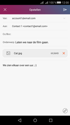 Huawei Huawei Y5 II - E-mail - E-mails verzenden - Stap 15