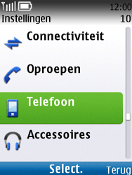 Nokia C2-01 - netwerk en bereik - gebruik in binnen- en buitenland - stap 4