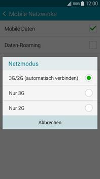 Samsung N910F Galaxy Note 4 - Netzwerk - Netzwerkeinstellungen ändern - Schritt 7
