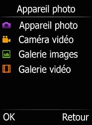 Doro 6520 - Photos, vidéos, musique - Envoyer une photo via Bluetooth - Étape 4