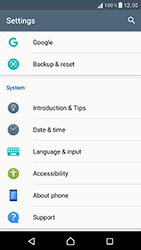 Sony Xperia XZ (F8331) - Device - Software update - Step 5