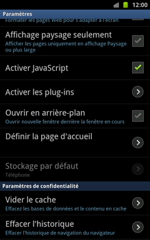 Samsung N7000 Galaxy Note - Internet - Configuration manuelle - Étape 14