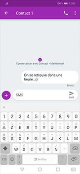 Huawei Mate 20 lite - Contact, Appels, SMS/MMS - Envoyer un SMS - Étape 8
