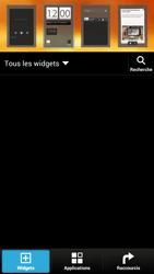 HTC One X - Prise en main - Installation de widgets et d