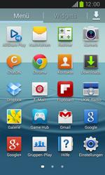 Samsung I9105P Galaxy S2 Plus - WLAN - Manuelle Konfiguration - Schritt 3