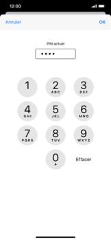 Apple iPhone 11 - Sécuriser votre mobile - Personnaliser le code PIN de votre carte SIM - Étape 7