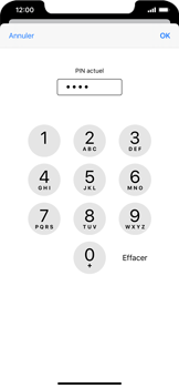 Apple iPhone 11 - Sécurité - modifier SIM PIN - Étape 7