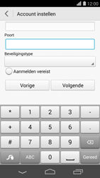 Huawei Ascend P7 - E-mail - Account instellen (POP3 zonder SMTP-verificatie) - Stap 17