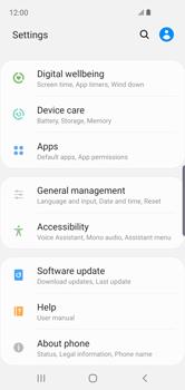 Samsung Galaxy S10e - Software - Installing software updates - Step 5