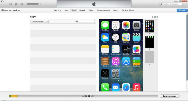 Apple iPhone 5 met iOS 7 - Software - PC-software installeren - Stap 11