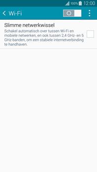 Samsung Galaxy Note 4 - wifi - handmatig instellen - stap 5