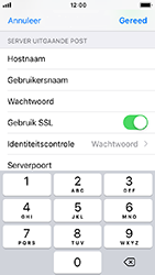 Apple iphone-5s-ios-12 - E-mail - Account instellen (POP3 met SMTP-verificatie) - Stap 19