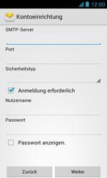 ZTE Blade III - E-Mail - Manuelle Konfiguration - Schritt 13