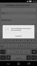 Sony D6503 Xperia Z2 - E-mail - Handmatig instellen - Stap 11