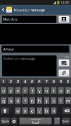 Samsung Galaxy S4 - Contact, Appels, SMS/MMS - Envoyer un MMS - Étape 12