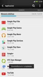 HTC One Max - Applicazioni - Come disinstallare un