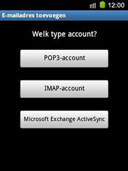 Samsung S5570 Galaxy Mini - E-mail - e-mail instellen: IMAP (aanbevolen) - Stap 7