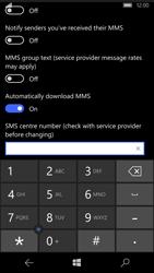 Microsoft Lumia 950 - SMS - Manual configuration - Step 7