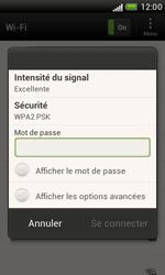 HTC T328e Desire X - Wifi - configuration manuelle - Étape 6