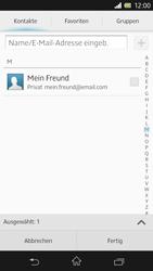 Sony Xperia Z - E-Mail - E-Mail versenden - 2 / 2