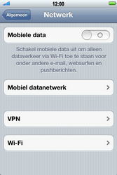 Apple iPhone 4 S - Internet - Handmatig instellen - Stap 5