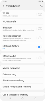 Samsung Galaxy A80 - WLAN - Manuelle Konfiguration - Schritt 5