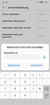 Huawei P20 Lite - Anrufe - Rufumleitungen setzen und löschen - Schritt 7