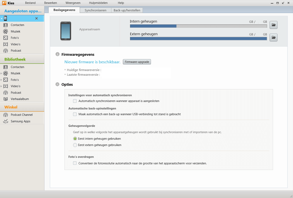 Samsung Galaxy S3 Mini VE (I8200) - Software - Installeer firmware update - Stap 5