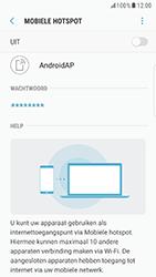 Samsung Galaxy S6 Edge - Android Nougat - WiFi - Mobiele hotspot instellen - Stap 7