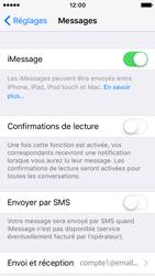 Apple iPhone SE - iOS 10 - iOS features - Envoyer un iMessage - Étape 5