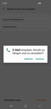 Samsung Galaxy S10 - E-Mail - Konto einrichten (outlook) - 10 / 16