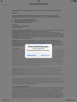 Apple iPad Air - iOS 11 - Persönliche Einstellungen von einem alten iPhone übertragen - 17 / 27