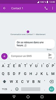 Crosscall Trekker X4 - Contact, Appels, SMS/MMS - Envoyer un SMS - Étape 9