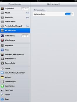 Apple iPad Retina - Netzwerk - Manuelle Netzwerkwahl - Schritt 6
