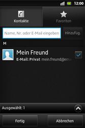 Sony Xperia Go - MMS - Erstellen und senden - 10 / 19