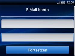 Sony Ericsson Xperia X10 Mini Pro - E-Mail - Konto einrichten - Schritt 4