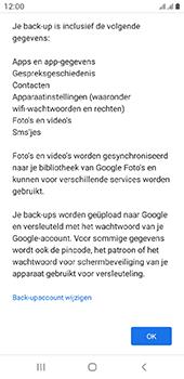 Samsung galaxy-a6-sm-a600fn-ds-android-pie - Instellingen aanpassen - Back-up maken in je account - Stap 10