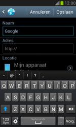 Samsung I8190 Galaxy S III Mini - Internet - Hoe te internetten - Stap 5