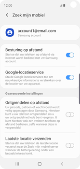 Samsung Galaxy S10e - Beveiliging en privacy - zoek mijn mobiel activeren - Stap 8