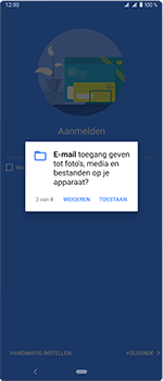 Sony Xperia 1 - E-mail - handmatig instellen (outlook) - Stap 12