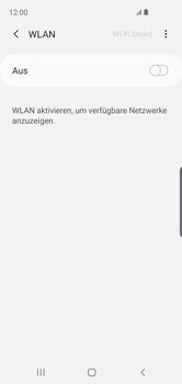 Samsung Galaxy S10e - WLAN - Manuelle Konfiguration - Schritt 6