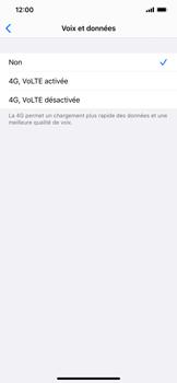 Apple iPhone XS Max - iOS 13 - Réseau - Comment activer une connexion au réseau 4G - Étape 6