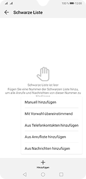 Huawei Mate 20 - Anrufe - Anrufe blockieren - Schritt 8