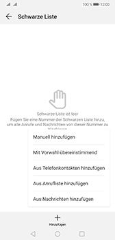 Huawei Mate 20 - Anrufe - Anrufe blockieren - 8 / 12