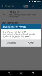 HTC One M9 - Bluetooth - Geräte koppeln - Schritt 9