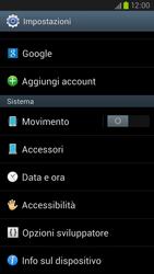 Samsung Galaxy S III LTE - Software - Installazione degli aggiornamenti software - Fase 5