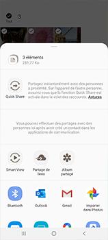 Samsung Galaxy A41 - Photos, vidéos, musique - Envoyer une photo via Bluetooth - Étape 11